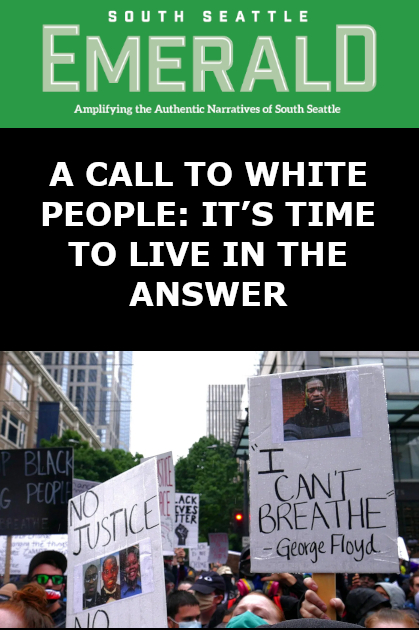 A Call to White People