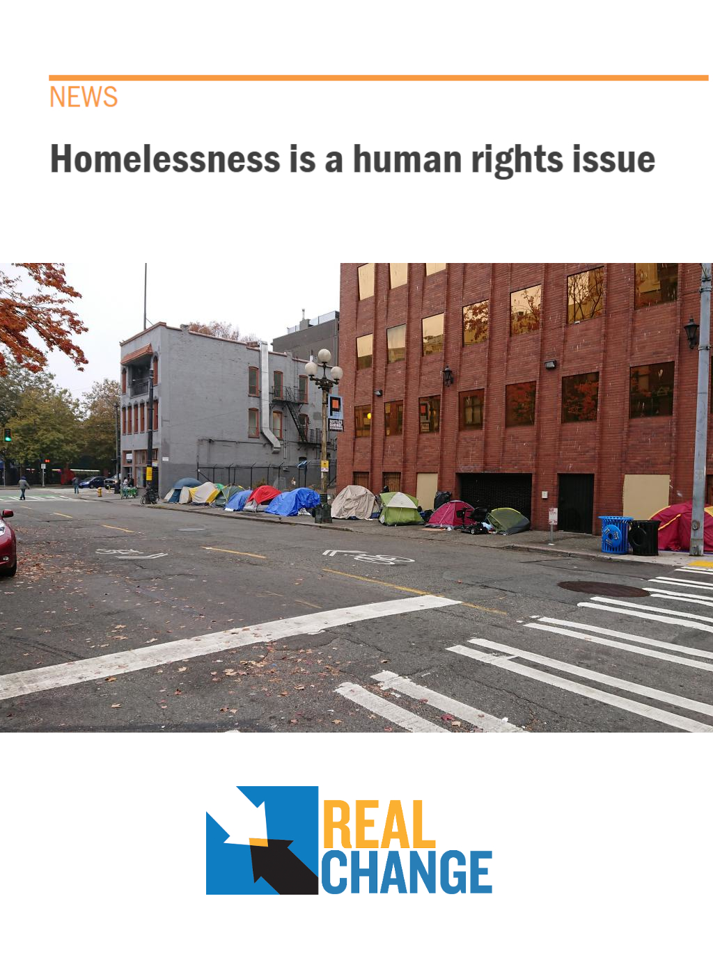 Homeslessness is a Human Rights Issue